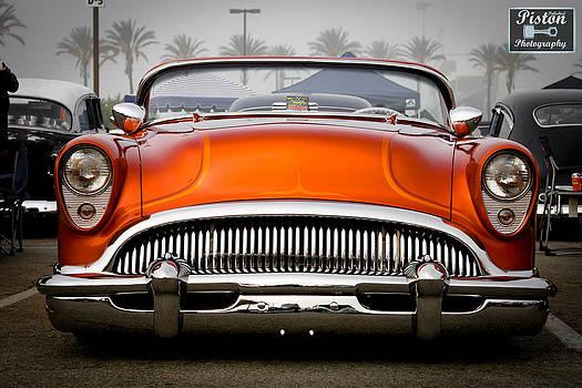 Orange in the Mist by Michael Kerckaert
