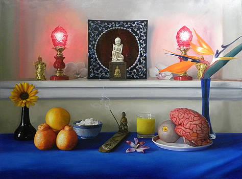 Orange is a miele taste my mouth. by Richard Barone