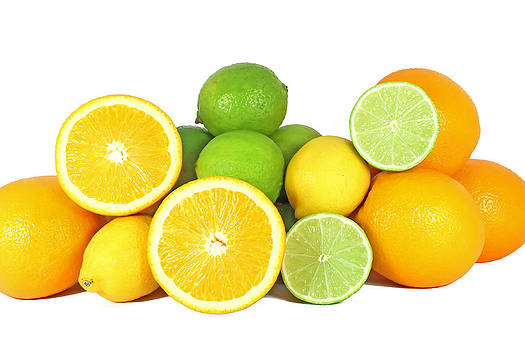 Orange limes and lemon by Borislav Marinic