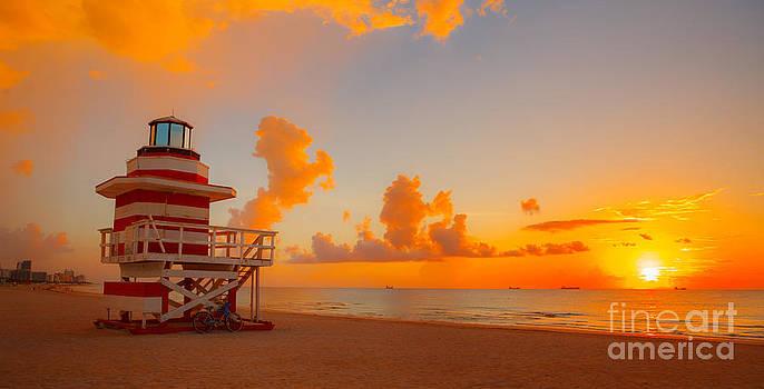 Orange Mist by Nicholas Tancredi