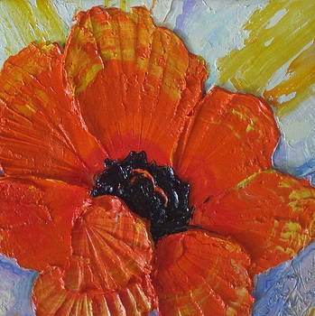 Orange Poppy by Paris Wyatt Llanso