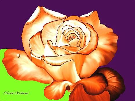 Naomi Richmond - Orange Rose