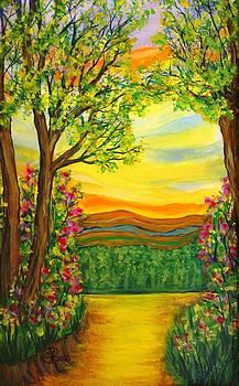 Orange Sky by Catherine Jeffrey