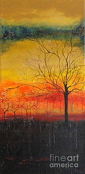 Orange Sky by Mantra Y