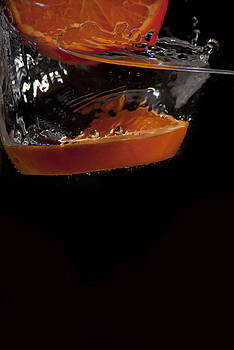 Orange Splash by Leon James