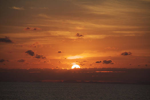 Orange Sun by S C