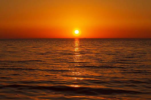 Gynt   - Orange sunset