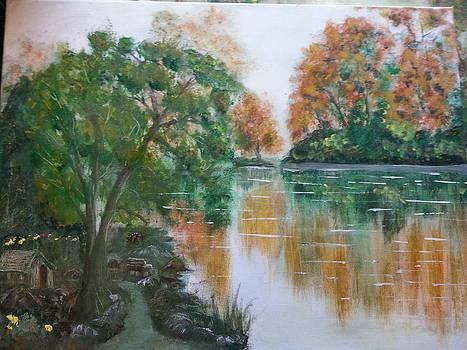 Orange Trees by Kam Abdul
