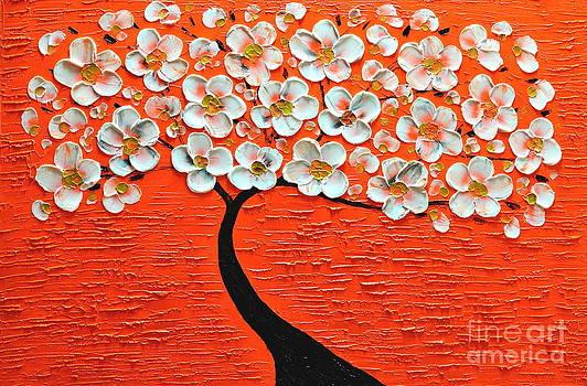 Orange whisper by Mariana Stauffer
