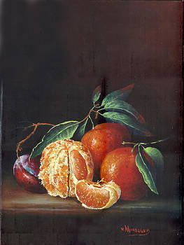 Oranges by Victor Mordasov