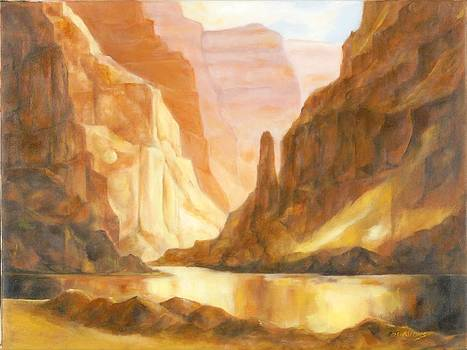 Orb in Canyon by Diane Nations