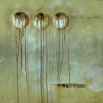 Orbs # 1 by Cheryl Poulin