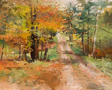 Orchard Road by Deborah Lazar