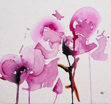 Orchid study I by Karin Johannesson