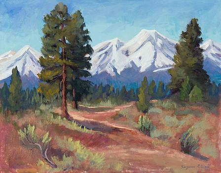 Oregon Cascade Mountains by Suzanne Elliott