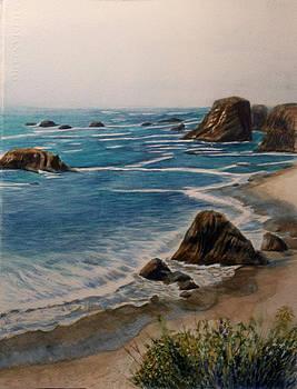 Oregon Coast by Carol Oberg Riley