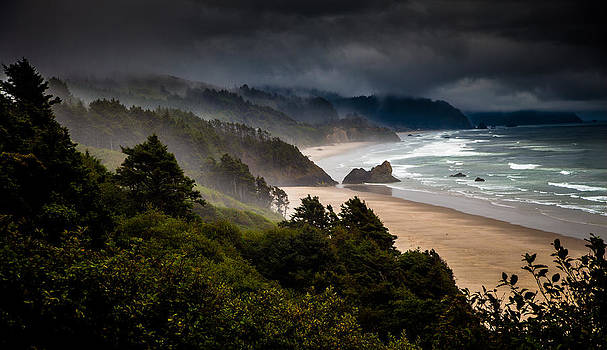 Oregon Coast by Michael Molumby