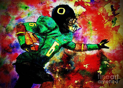 Oregon Football 3 by Michael Cross