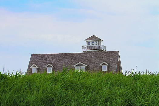Oregon Inlet Lifesaving Station by Cathy Lindsey