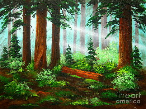 Oregon  Woods  by Shasta Eone