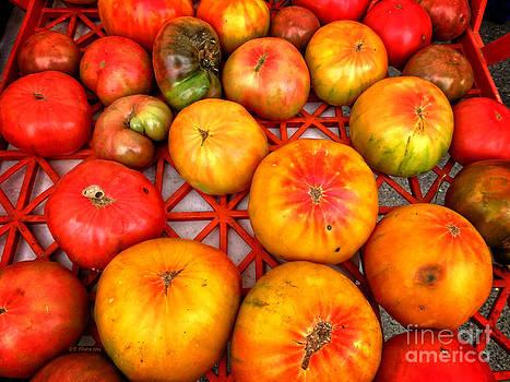 Dee Flouton - Organic Heirloom Tomatoes