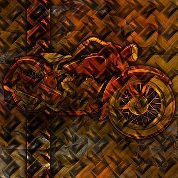 Ray Van Gundy - Organic Metal Motorcycle