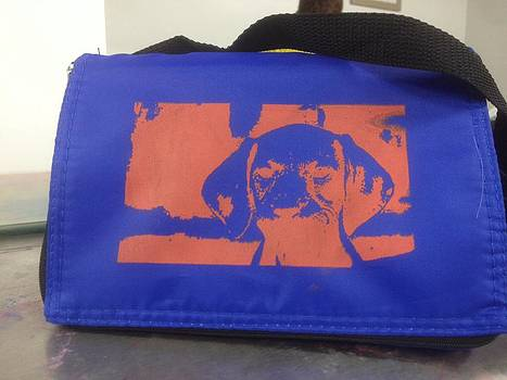 Organic treat travel dog bag by Gaby Nalven