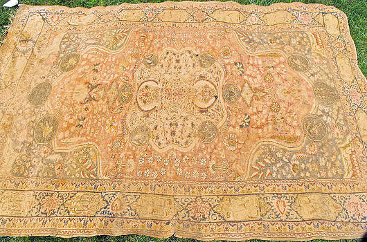 Oriental carpet of exquisite design and workmanship by Anonymous artist