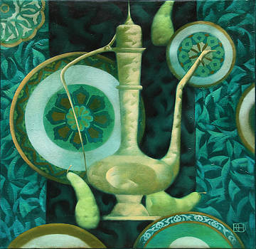 Oriental Motif by Nadia Egorova