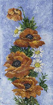 Oriental Poppies by Ann Arensmeyer