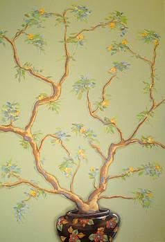 Oriental Tree by Sandra Lett