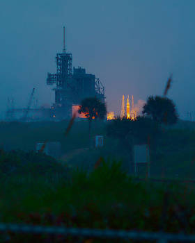 Orion EFT-1 Liftoff by Patrick Anderson