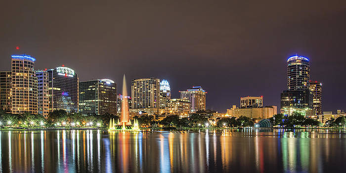 Orlando Skyline by Brian Young