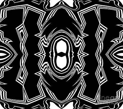 Drinka Mercep - Ornament Black White Art No.252.