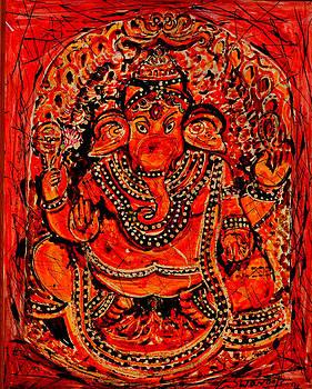 Anand Swaroop Manchiraju - ORNAMENTAL GANESHA-7