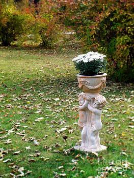 Ornamental Statue Vase by Ioana Ciurariu