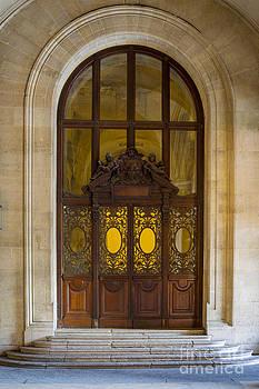 Brian Jannsen - Ornate Door - Paris