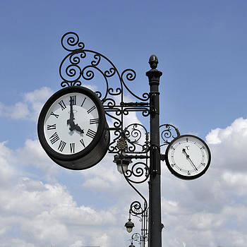Angela Bonilla - Ornate Vintage Clock