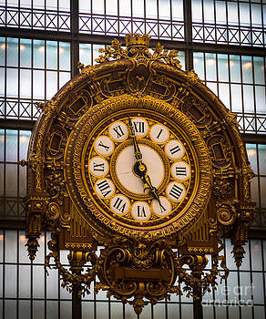 Inge Johnsson - Orsay Clock