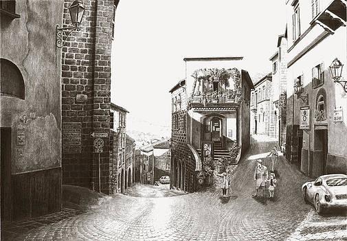 Orvieto Italy by Norman Bean