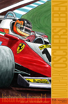 Georgia Fowler - Oschersleben Historic F1 Grand Prix