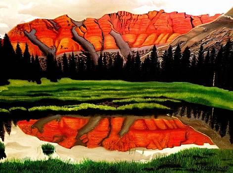 Ostler Peak by Victoria Rhodehouse