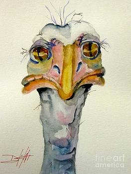 Ostrich No.2 by Delilah  Smith