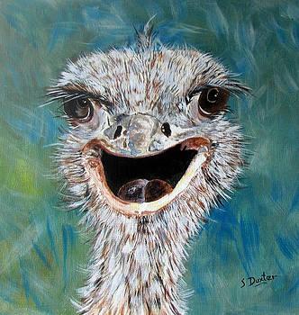 Susan Duxter - Ostrich Portrait