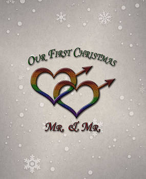 Our First Christmas Gay Pride by Tavia Starfire