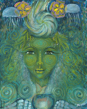 Our Lady of Flowing Waters by Havi Mandell