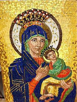 Our Lady of Perpetual Help Mosaic by Patrick RANKIN