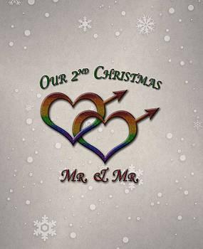 Our Second Christmas Gay Pride by Tavia Starfire