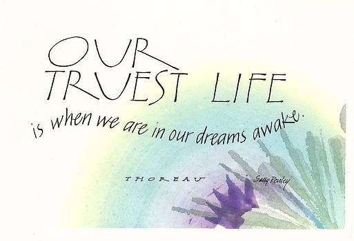 Our Truest Life by Sally Penley