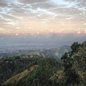 Our View Of Kingston Town by Derek Kaplan